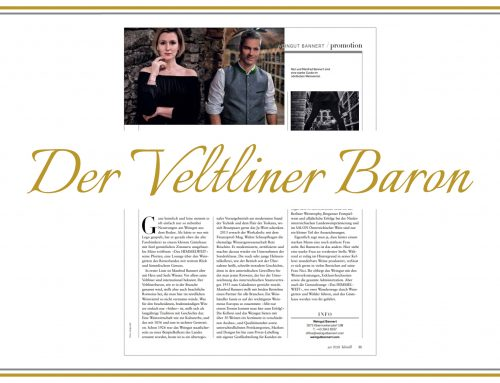 Bannert: Der Veltliner Baron
