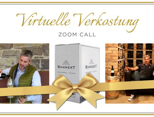 Virtuelle Weinverkostung-Zoom Call